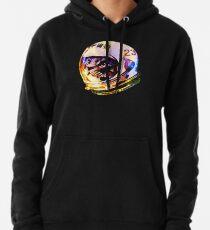 Sudadera con capucha Astronauta Space Cat (versión galaxia profunda)