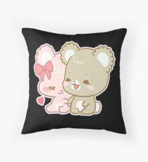 sugar cubs Throw Pillow