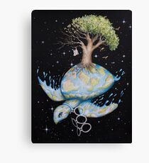 Endangered - Global Warming and Climate Change Canvas Print