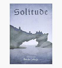 Skyrim - Solitude Photographic Print