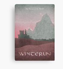 Skyrim - Whiterun Canvas Print