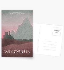 Skyrim - Whiterun Postcards