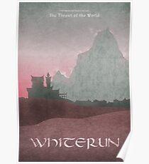 Skyrim - Whiterun Poster