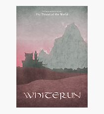 Skyrim - Whiterun Photographic Print
