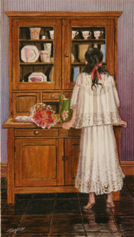 Looking for a vase by Freda Surgenor