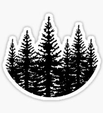 Pine Trees Sticker