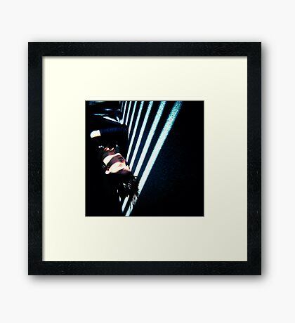 crime & ornament Framed Print