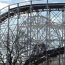 Amusement  Park Rides, Coney Island, Brooklyn, New York City by lenspiro