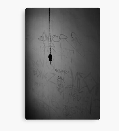 Lights Out. Canvas Print