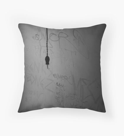 Lights Out. Throw Pillow