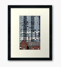 In Contrast Framed Print