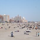 Beach, Coney Island, Brooklyn, New York City by lenspiro