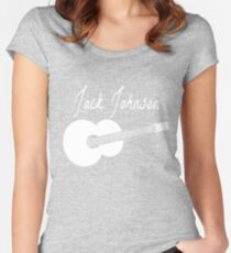 Jack Johnson (White) Women's Fitted Scoop T-Shirt
