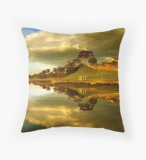 Rippleside Reflected Throw Pillow