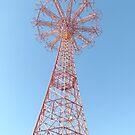 Classic Parachute Jump, Coney Island, Brooklyn, New York City by lenspiro