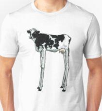 Long Legged Cow Unisex T-Shirt
