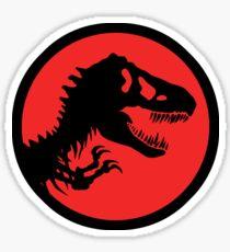 T-rex/ Jurassic logo Sticker