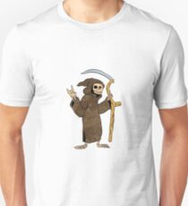 cartoon grim reaper. Unisex T-Shirt