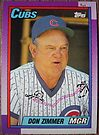 259 - Don Zimmer by Foob's Baseball Cards