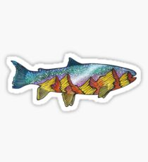 Fish Full of Stars Sticker