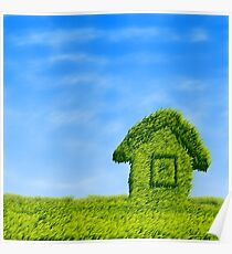 Eco house  Poster
