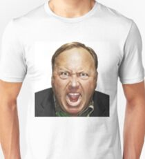 Alex Jones Angry and Pissed - Clothing and Accessories Unisex T-Shirt