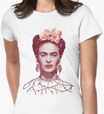 Frida Kahlo Portrait Women's Fitted T-Shirt