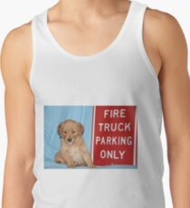 Max- Fire Truck Parking Men's Tank Top