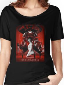 Ghost In Shell The Movie Women's Relaxed Fit T-Shirt