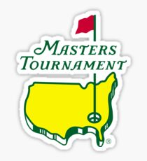 Masters Tournament Sticker
