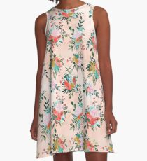 Bouquet Bursts A-Line Dress