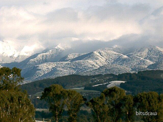 snow tops by bitsdraw