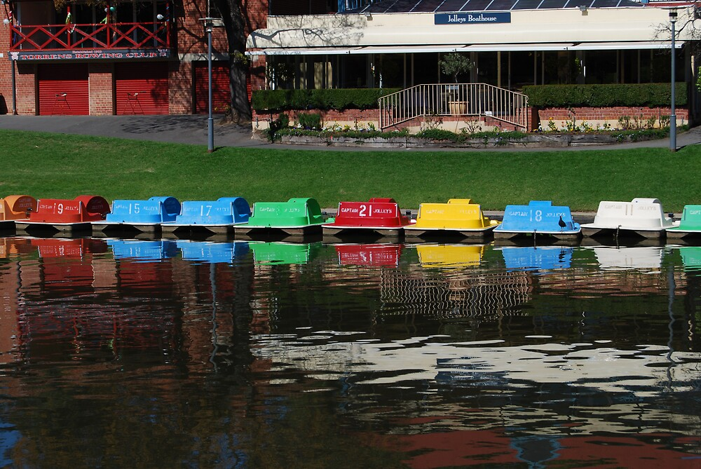 paddle boats by Princessbren2006