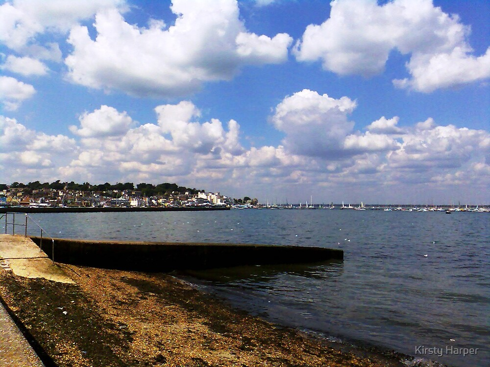 Cowes from East Cowes by Kirsty Harper