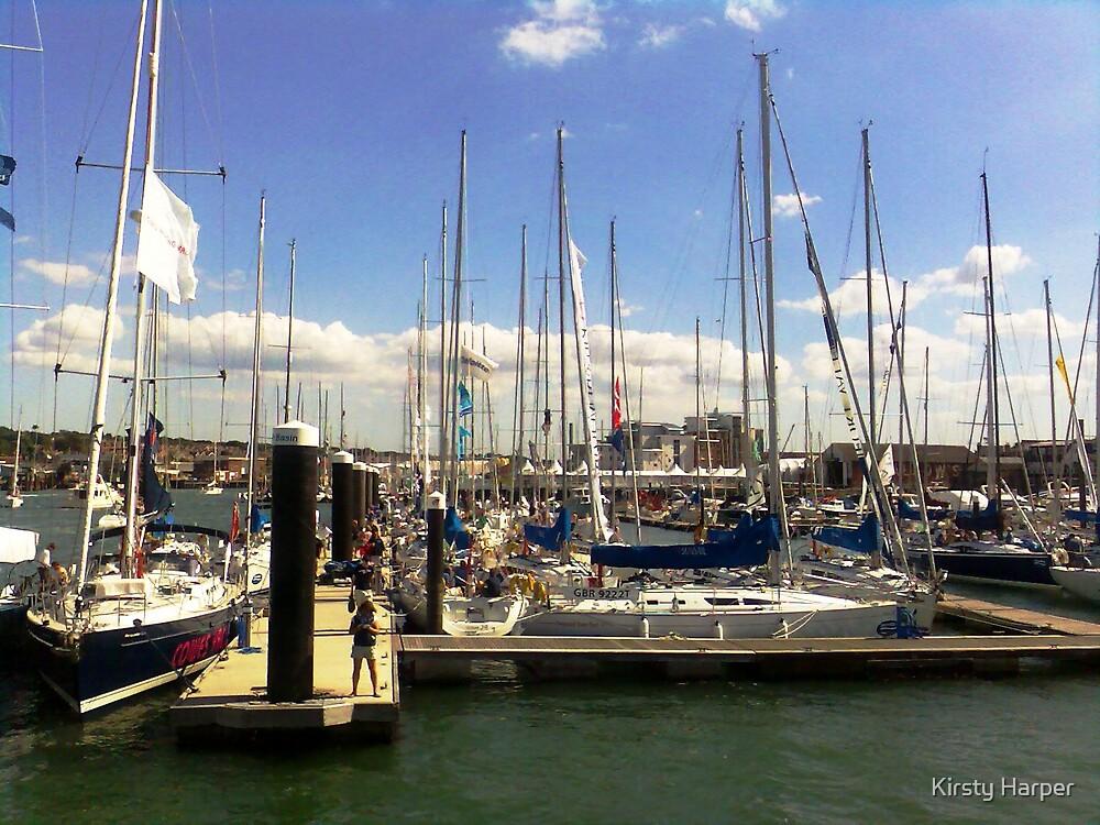 Yacht Moorings by Kirsty Harper
