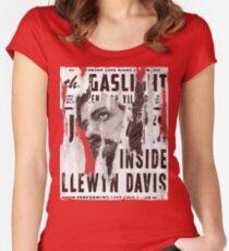Inside Llewyn Davis - Vintage Poster Women's Fitted Scoop T-Shirt