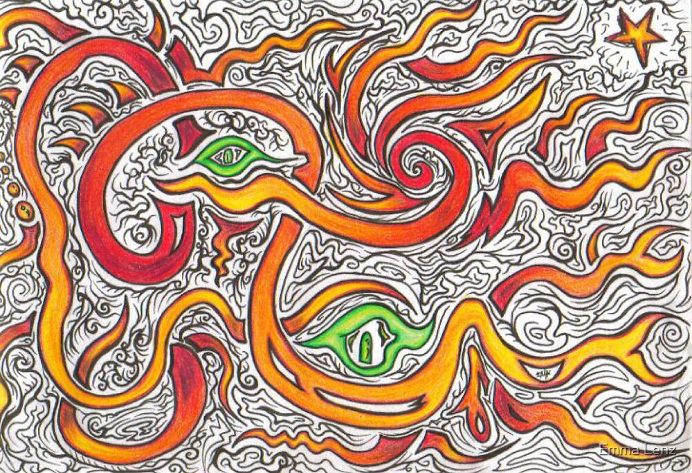 crazy eyes by Emma Lenz