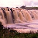 Spill - Hopkins Falls - Warrnambool by Norman Repacholi