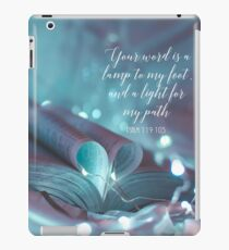 PSALM 119:105 iPad Case/Skin