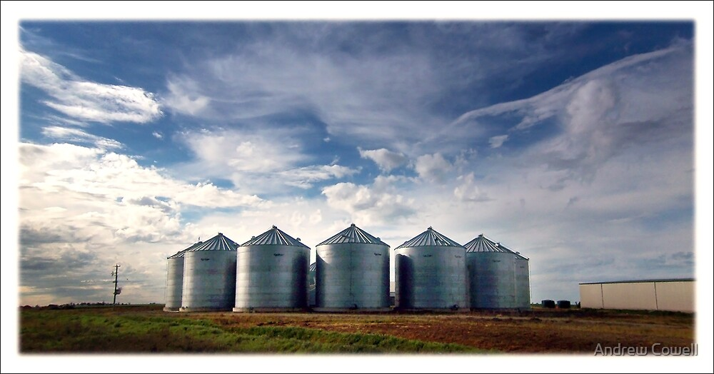 silos by Andrew Cowell