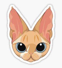 Stachys My weird Cat Sticker