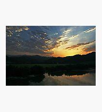 Sunset in Iran 2 Photographic Print