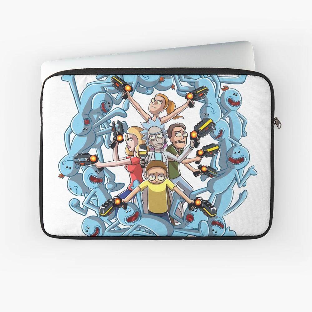 Rick und Morty: Glückliche Familie Laptoptasche
