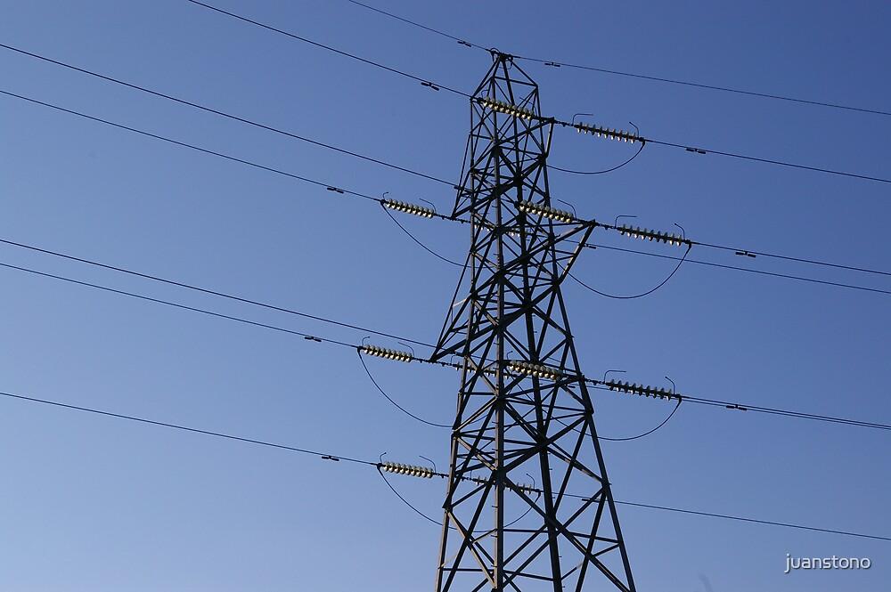 Electricity Pylon by juanstono