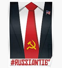 Russia Donald Trump Poster, Russian Ties with Putin Poster Poster
