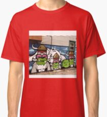Phes and Jc Rivera Mural  Classic T-Shirt