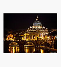 View to the Vatican Photographic Print