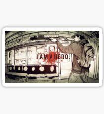 I Am A Hero Sticker