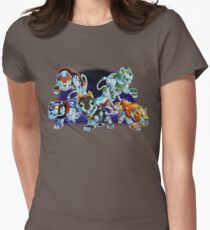 Lions of Voltron Womens Fitted T-Shirt