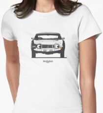 Toyota 2000GT (front) Women's Fitted T-Shirt